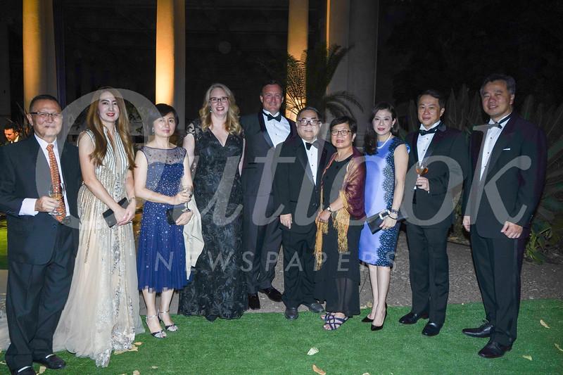 Henry Kwong, Iris Yang, Emma Ye, Stefanie and Mike Killackey, C. Joseph and Shwu Chang, Lindsey and Steven Huang, and Alan Chen