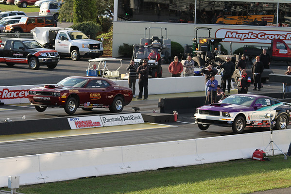 Hemi Challenge and Muscle Car Showdown Challenge Action