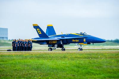 Blue Angels Duluth Air Show 2014