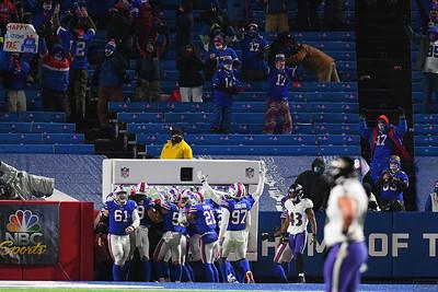 NFL: Ravens at Bills; 1/16/21