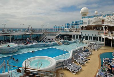 2008 Alaskan Cruise Day 3 - At Sea