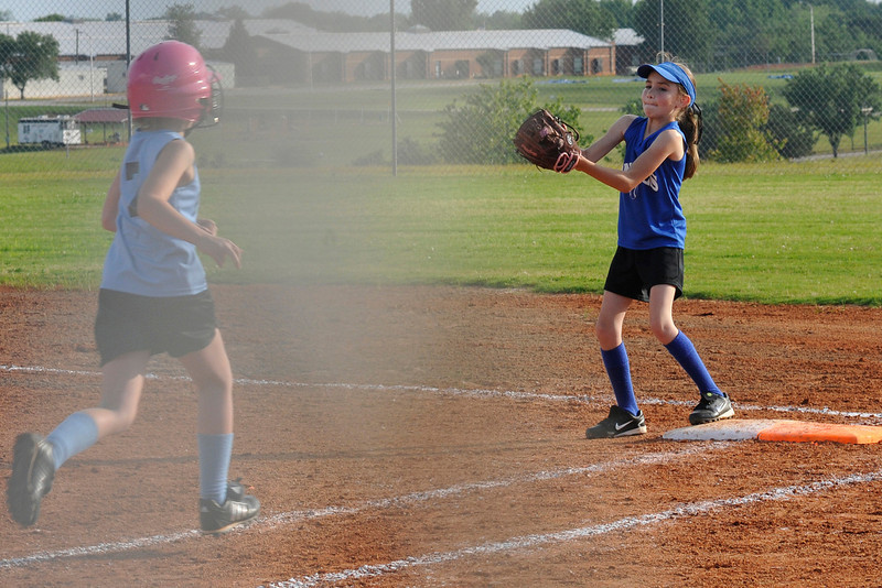 May 15, 2012 - Angels vs. Panthers Girls Softball