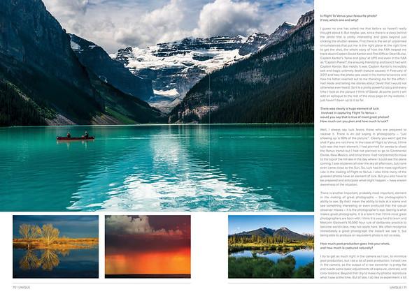 UNIQUE Magazine Article