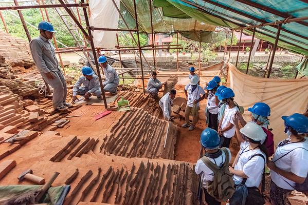 WHV Angkor - Brick Conservation