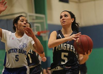 Pingree vs Notre Dame Academy Girl's Basketball