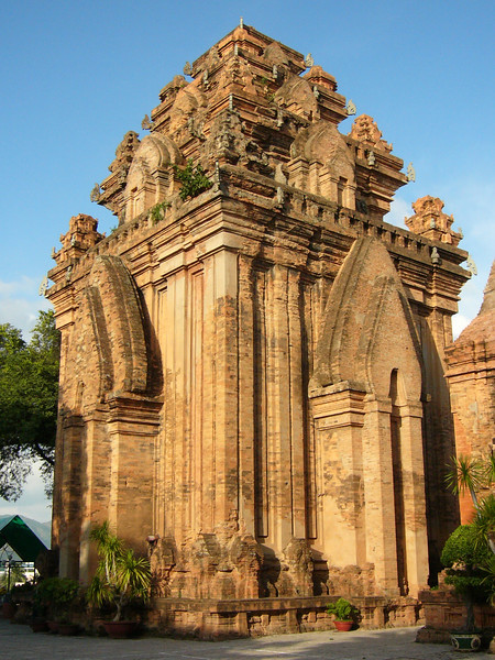 A Cham temple near Nha Trang