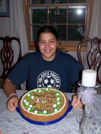Molly's Sweet & Golden 16 - September 16, 2005