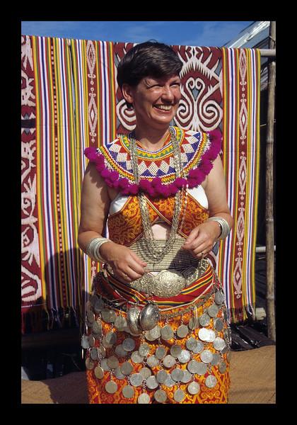Iban Wedding Dress - Borneo - 1989.jpg