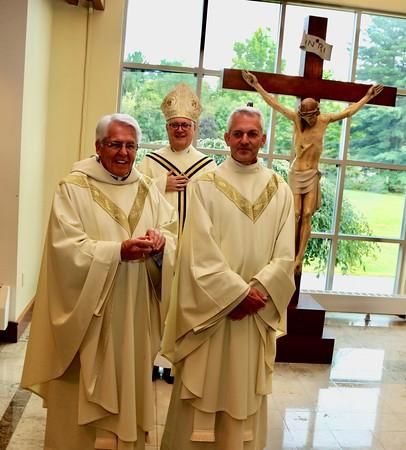 Father Pescatello Installation