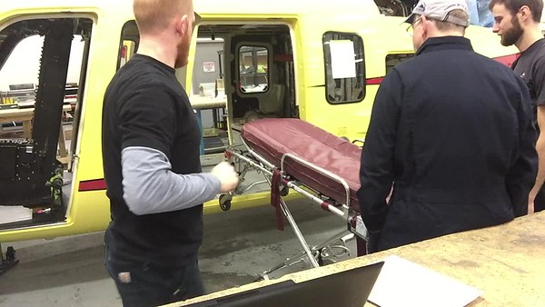 LifeFlight S76C+ - Stretcher Load / Unload