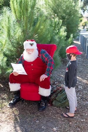 Behind the Scenes Santa Visit