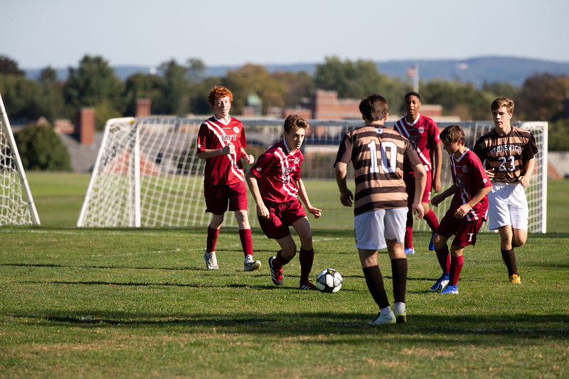 Boys' Fourths Soccer v Brunswick