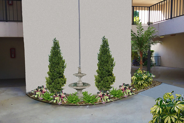 Proposed Re-Landscaping
