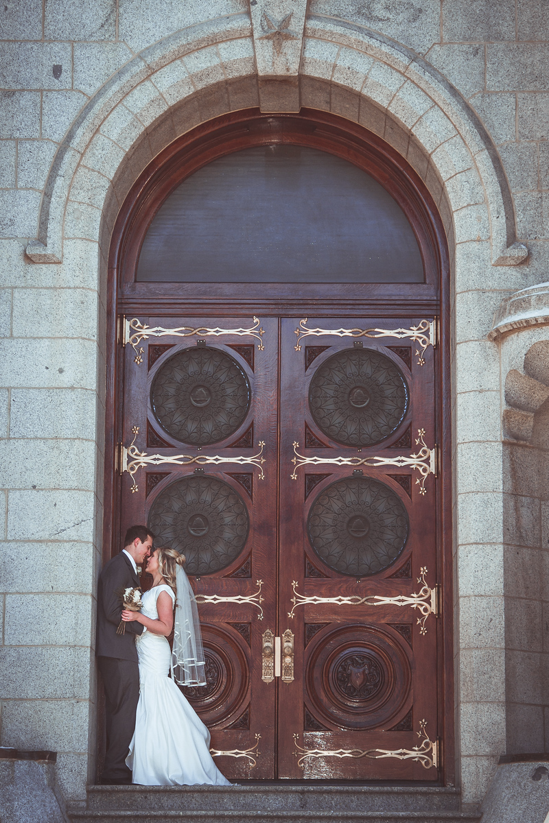 Salt Lake Temple Wedding Photography