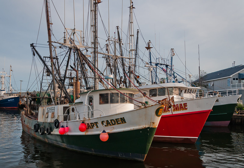 Commercial Fishing Vessels, Point Pleasant, NJ