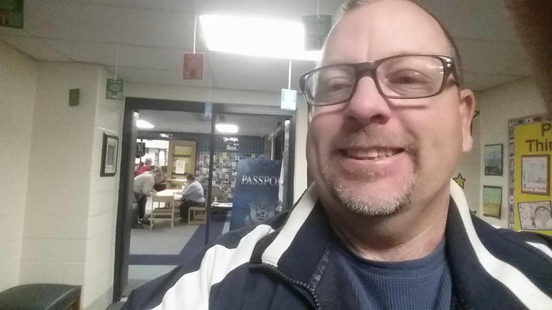 . At 7:36 a.m. at Beaumont Elementary in Waterford Township, Vince Imbier was voter #34 .
