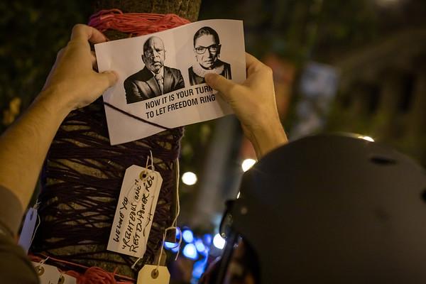 Vigil For Ruth Bader Ginsburg - Chicago - September 19th, 2020