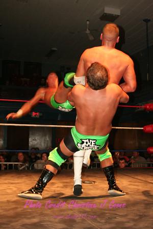 01 Johnny Angel & Dan Strikes vs The Stroke (Gregory Edwards & Ryan Waters  )