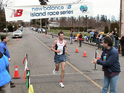 2004 Comox Valley Half Marathon - Finn Wins