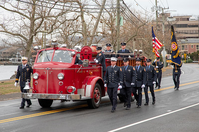 Firefighter Turk Aksoy Memorial Service (Westport, CT) 12/1/19