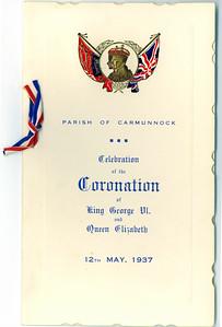 KG VI Coronation 1937
