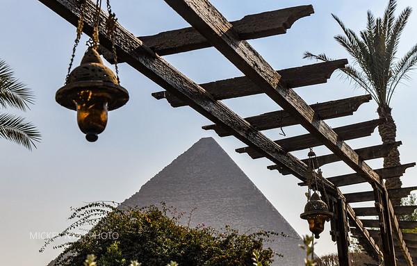 02-01-20 Egypt Day-0 Mena Hotel | Great Pyramid at Night