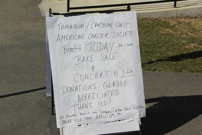 ACS Benefit, Community Arts Center, Tamaqua (3-30-2013)