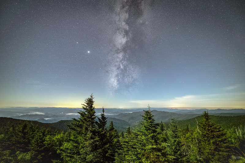 """All Trees in the Smoky Mountains Point to the Milky Way"""