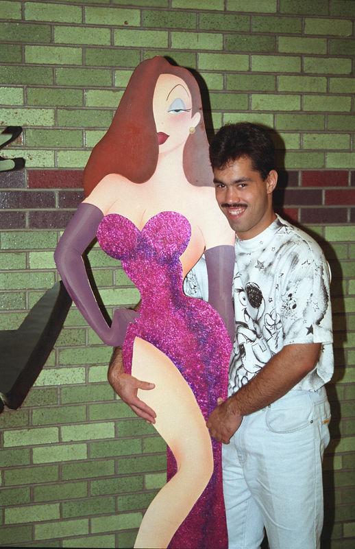 1995 08 - David Barrios in Florida