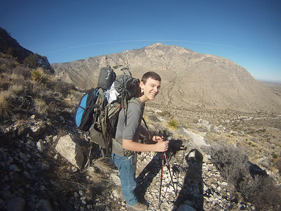 Guadalupe Peak Backpacking