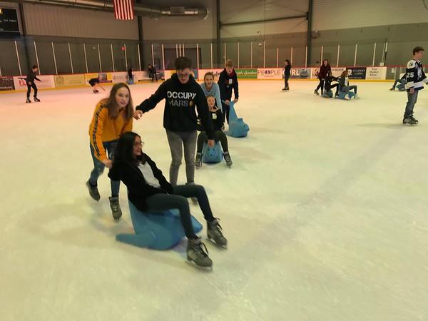 7th and 8th Grade Ice Skating at Florida Hospital Center Ice
