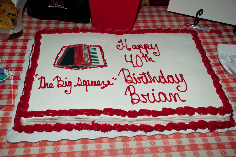 Brian Wisnoski's 40th Birthday Bash