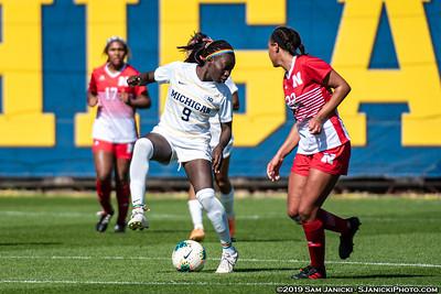 10-6-19 - Best of Michigan Women's Soccer Vs Nebraska
