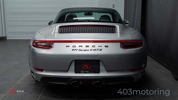 '17 911 Targa 4 GTS - GT Silver Metallic