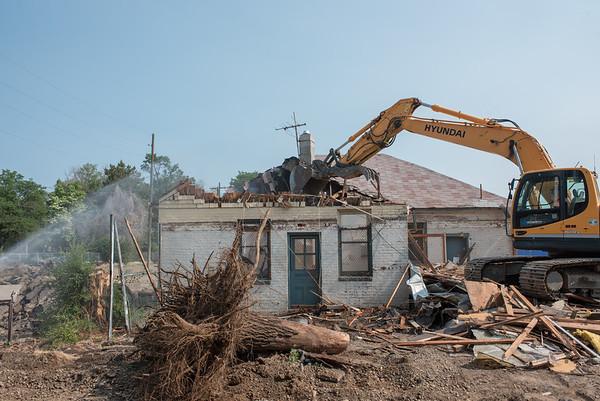 House Demolition 6-21-16