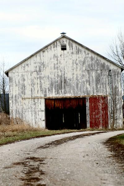 Old Tabacco Barn, Forks of Elkhorn, Kentucky