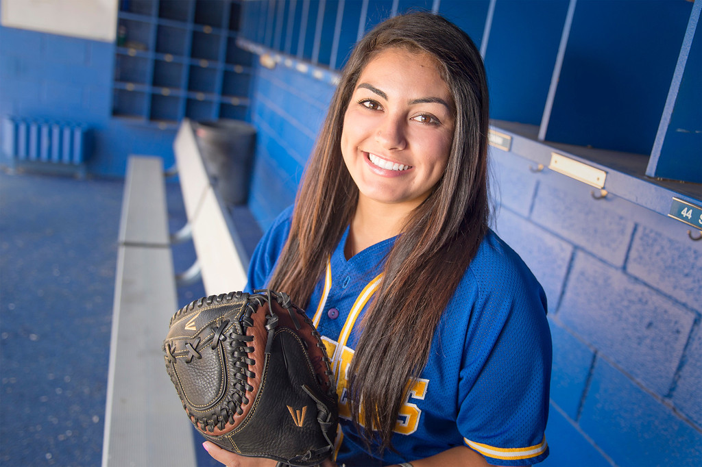 . Bishop Amat High\'s Lexi Gonzalez has been selected as the SGV Tribune\'s All-area Softball Player of the Year June 10, 2013.   (SGVN staff photo by Leo Jarzomb)