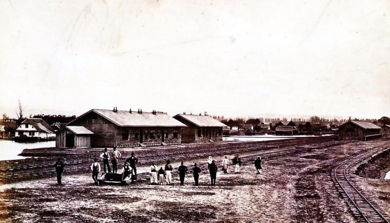 Izgradnja Stare željezničke stanice, 1890. godine