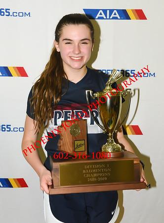 2018 AIA Girls Badminton State Championship - Awards