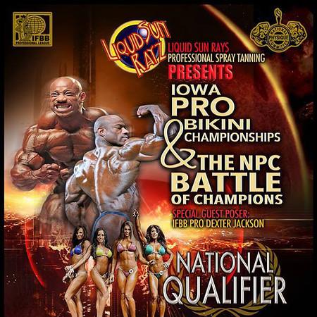 2014 Iowa Bikini Pro & NPC Battle of Champions