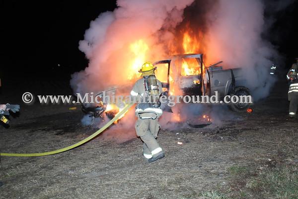 12/5/20 - Mason car fire, Edgar & Bunker