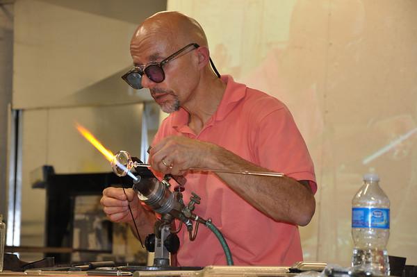 Emilio Santini Glass Artist 2011
