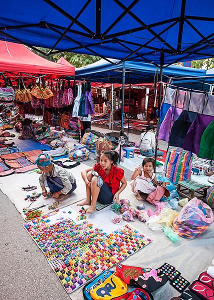 Street Market , Luang Prabang, Laos