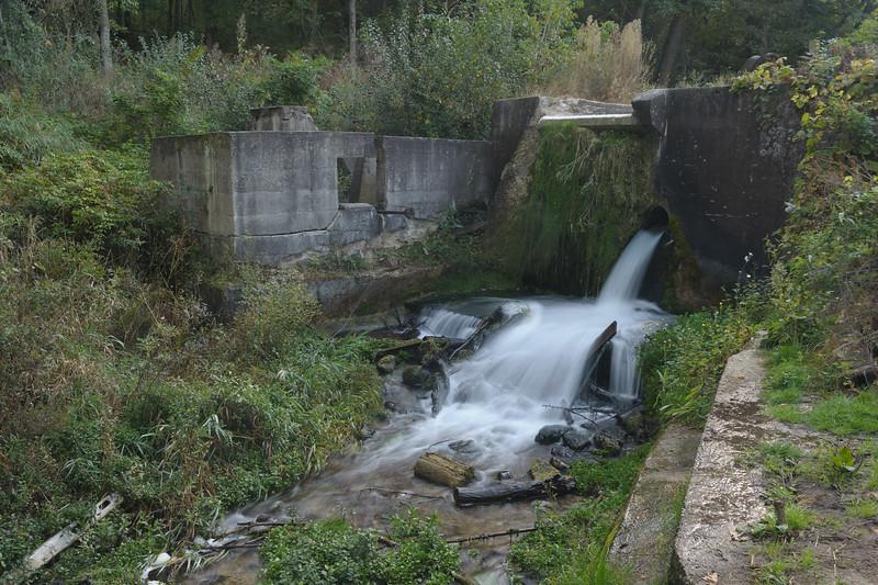 Paradise Springs Dam and Turbine House Ruins - Original Shot