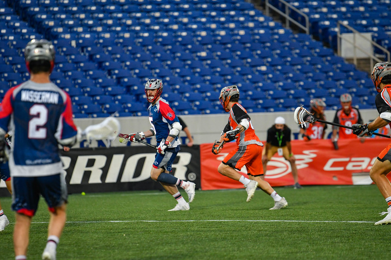 July 24, 2020 Annapolis, MD Navy-Marine Corps Memorial Stadium Denver Outlaws vs Boston Cannons. Photography Credit: Alex McIntyre