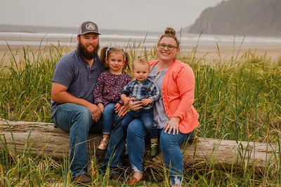 P Family Extended Session @ Manzanita, OR