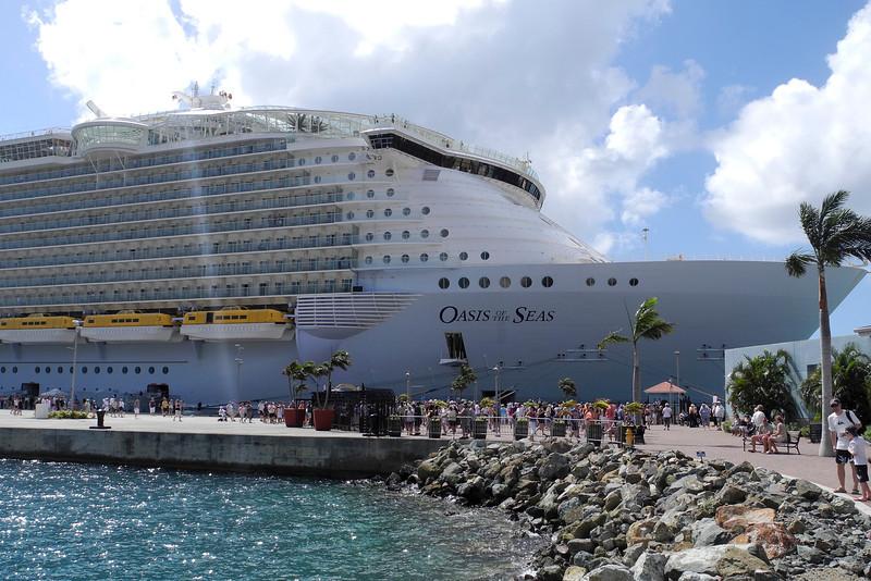 Docked in St. Thomas