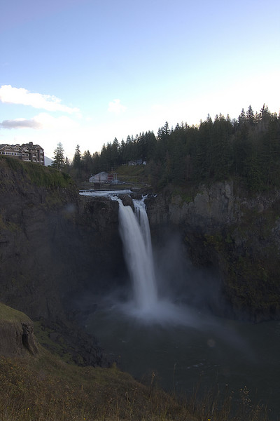 Snoqualmie Falls, east of Seattle