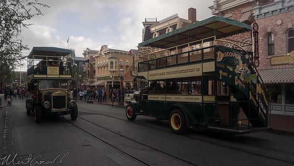 Disneyland Resort, Disneyland, Main Street USA, Omnibus