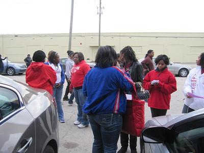 Delta Gems- MLK Day of Service
